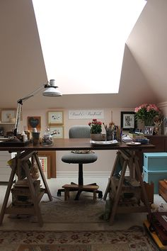 Trowel and Paintbrush: My Studio