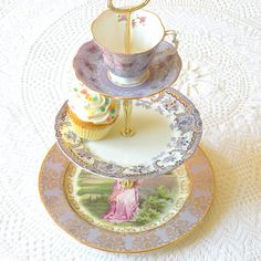 """""""High Tea for Alice"""" Cake Stands"""
