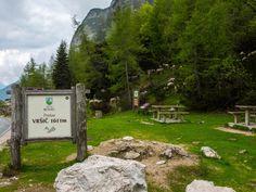 Passhöhe Vrsic-Pass 1611 m NN Seen, Golf Courses, France, Mountains, Nature, Travel, Partner, Camper, Campsite