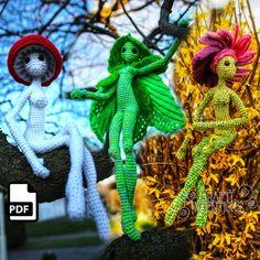 Crafty Intentions by CraftyIntentions on Etsy Mushroom Hat, Stuffed Mushroom Caps, Stuffed Mushrooms, Crochet Mushroom, Crochet Patterns Amigurumi, Crochet Toys, Amigurumi Toys, Easy Crochet, Crochet Ideas