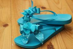 Flip Flops  (Idea for decoracting)  l  Cositas Simplemente Bonitas
