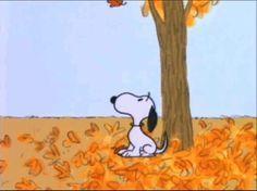 Imagem de charlie brown, fall, and snoopy