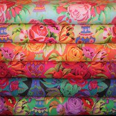 6 half yards Kaffe Fassett Fabric by rosebudquilter on Etsy