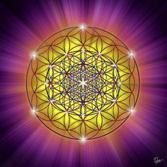 Sacred Geometry 54 Print By Endre Balogh