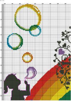Bimba arcobaleno 1