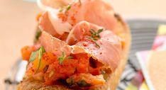 Pan con tomate et jambon serrano