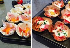 Burrito Breakfast Baskets - Real Recipes from Mums