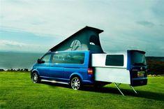 VW Transporter Doubleback Van. The coolest minivan on the planet