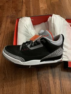 Nike Air Jordan 3 OG Black Cement 2018 Size 16  shoes  kicks  sneakerheads 9962e3983