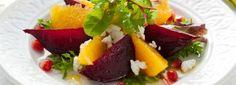Salata de sfecla rosie cu portocale