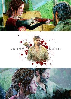 you can't save her #lastofus