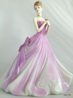 COALPORT Ladies of Fashion ETERNAL LOVE Bone China Figurine Made in England