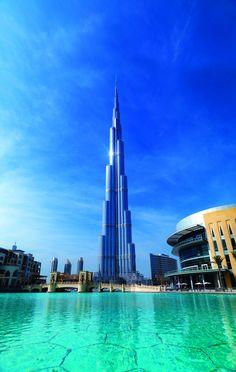 Burj Khalifa Dubaï Burj Khalifa, Dubai, Building, Travel, Modern Living, Viajes, Buildings, Destinations, Traveling
