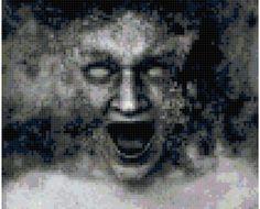 Spooky_face cross stitch halloween bonanza.com