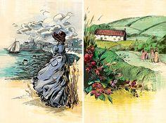 The Complete Novels of Jane Austen | Jacqui Oakley Illustration & Hand-Lettering
