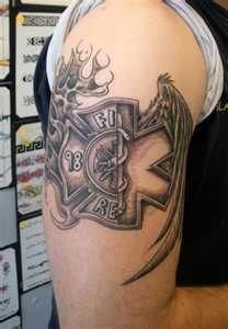 ems fire tattoo - Google Search