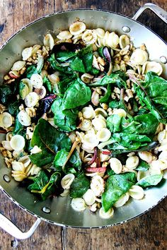 A CUP OF JO: Pasta with Spring Greens