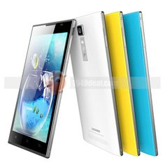 Doogee Turbo DG2014 MTK6582 Quad Core 1.3GHz Android 4.2 Smartphone 1G Ram 8G Rom 5.0 Inch HD IPS OGS Screen 3G Yellow - Mobile Phone