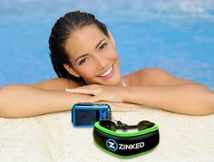 Waterproof Camera Float by Zinked - Neoprene Floating Wrist Strap for Your Underwater Cameras Gopro Camcorders or Phone Case. Save Your Device From Sinking. Includes Microfibre Lens Cleaning Cloth : Camera & Photo