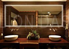 Best Badezimmerspiegel mit Beleuchtung Ibo Wandspiegel Neon http badspiegel org