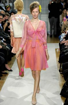 Moschino Cheap And Chic (my favorite show this season) from style.com #fashion #runway #fashionweek #happy