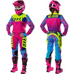 Fox is the leader in motocross and mountain bike gear, and the apparel choice of action sports athletes worldwide. Shop now from the Official Fox Racing® Online store. Motocross Ktm, Bmx, Fox Racing, Womens Dirt Bike Gear, Atv Gear, Dirt Bikes For Kids, Mtb Clothing, Moto Cross, Outfits