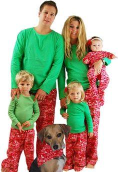 sleepyheads matching christmas pajamas-image1