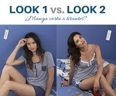 Manga corta vs. Tirantes #pijama #massana #homewear #summer #women #massanahomewear #ss15