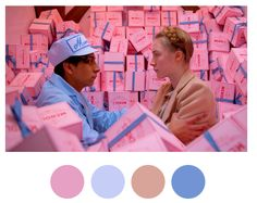Since seeing The Grand Budapest Hotel last week, I have not been able to get Wes Anderson off my mind. The delightful tumblr Wes Anderson ...