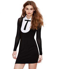 Sheer Split Joint Dress