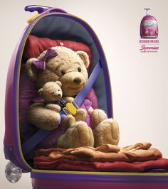 [ Samsonite Sammies - Teddy Bear ]