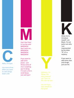 CMYK! To all my yearbook buddies!!!
