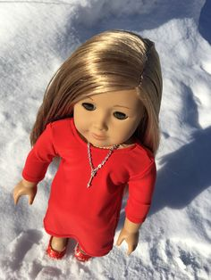 Dress Outfits, Girl Outfits, Dresses, American Girl Clothes, 18 Inch Doll, Dress Making, Doll Clothes, Etsy Shop, Dolls