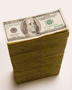 stack 100 dollar Bills | Cash stack of 100 dollar bills | Flickr - Photo Sharing!