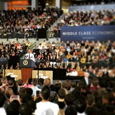 """""""I believe that higher education is one of the best investments anyone can make in their future ...It's been established time and time again that Georgia Tech is one of the best bargains around."""" Highest praise from the President himself. #POTUSatGT"""