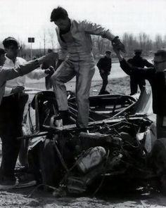 Mustang wreck