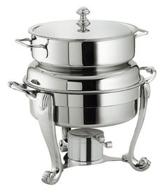 round soup station classic chafing dishesfood