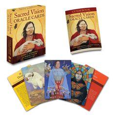 Sacred Vision Oracle Cards: Lynn V. Andrews, Robert Taylor: 9781582706498: Amazon.com: Books