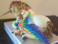 The most magical unicorn cake ever made…