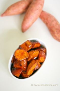 Crispy Sweet Potato in Caramelised Sauce Goguma Mattang 2