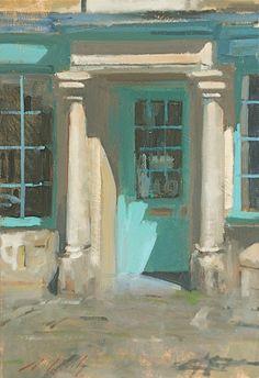 stilllifequickheart: Paul Rafferty Blue Door Burford 21st century
