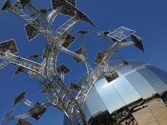 Bristol's amazing Solar Trees. Climate Action, Solar House, Bright Future, Renewable Energy, Great Photos, Solar Panels, Solar Power, Bristol, Trees