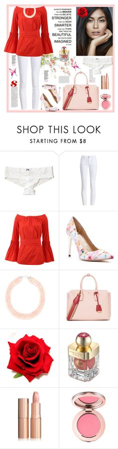 """Red element"" by natalyapril1976 ❤ liked on Polyvore featuring Hollister Co., Barbour, Oscar de la Renta, GUESS by Marciano, MCM and Shanghai Tang"