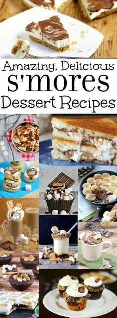 Smores Dessert Recipes