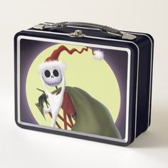 Jack Skellington | ...And To All A Good Fright! Metal Lunch Box - good gifts special unique customize style