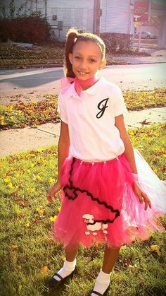 Tutu Poodle skirt! 50's inspired costume for a little girl. For ordering info email adarlingdiva@ymail.com