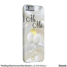 Wedding/Anniversary Mate Barely iPhone 6/6s Case Barely There iPhone 6 Case