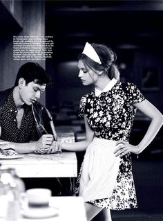 """""""Without Reservation""""  Svetlana Kudina by Corrie Bond forMarie Claire AustraliaFebruary 2013  See more from this sethere"""