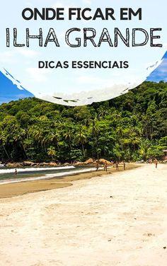 Onde ficar em Ilha Grande, um dos lugares mais lindos de Angra dos Reis, no Rio de Janeiro. Descubra como são as principais enseadas, praias e o lugar mais indicado para você se hospedar. Também há dicas de hostels e pousadas com excelente custo-benefício.