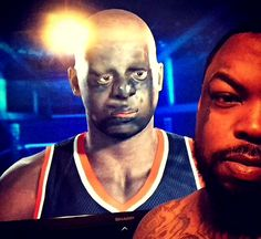 NBA 2K15 makes use of the Playstation camera for PS4 to allow gamers to scan their faces and become a character in the game. The feature uses face detection algorithms that often fail to identify the features of the face correctly creating monstrous glitches.